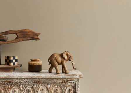 Stylish,Composition,At,Moroccan,Interior,With,Wooden,Shlef,,Cube,,Design