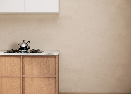 Modern,Scandinavian,And,Japandi,Style,Of,Kitchen,Room,With,White